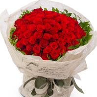 빨강장미100송이꽃다발