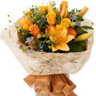 노랑계절꽃혼합