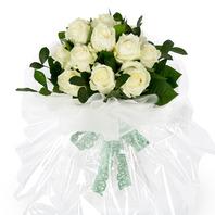 흰장미 꽃다발