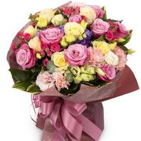 장미혼합꽃다발909w