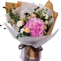 수국혼합꽃다발