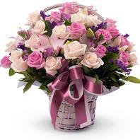 핑크톤 장미혼합