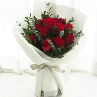 빨강장미꽃다발