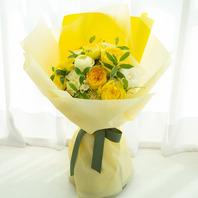 노랑장미 혼합꽃다발