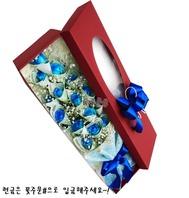 블루장미 돈꽃박스 (현금별도)