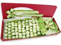 하얀장미100송이 꽃박스