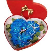 블루하트 꽃상자