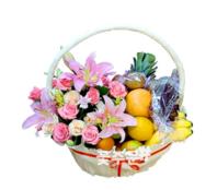 샤브리나 과일꽃바구니