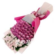 백송이스탠드형(핑크50호)
