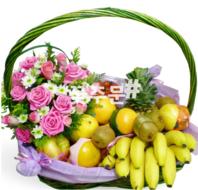과일꽃바구니 K