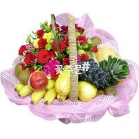 과일꽃바구니16호