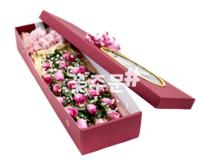 핑크장미안개상자